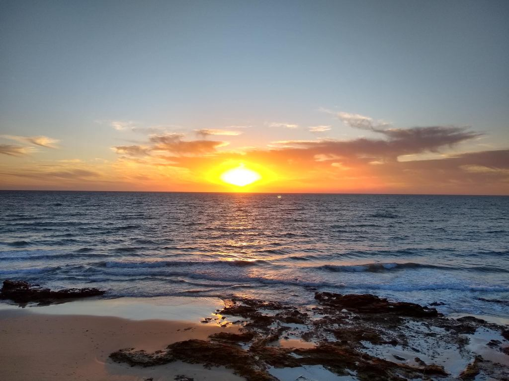 Sunrise in Fuerteventura, November 2019
